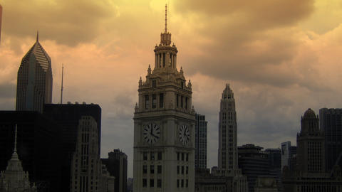 Wrigley Tower Footage