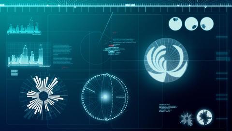 Computer screen loop Stock Video Footage
