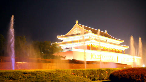 Forbidden City in Beijing - China Stock Video Footage