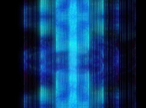 VJ Loop 394 Blue Cylinder 10s Animation