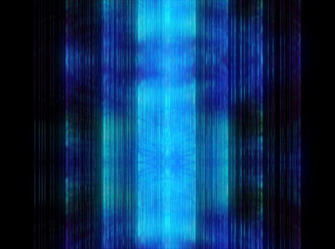 VJ Loop 394 Blue Cylinder 10s Stock Video Footage