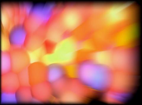 VJ Loop 413 3D Balls Pink Zoom 30s Stock Video Footage