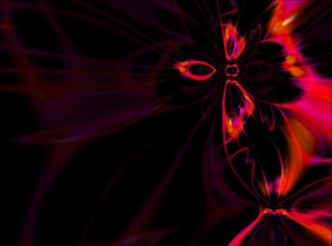 VJ Loop 430 Psychedelic Warp 4 13s Stock Video Footage