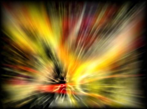 VJ Loop 435 Psychedelic Warp 9 9s Stock Video Footage