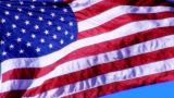American Flag 05 Loop stock footage