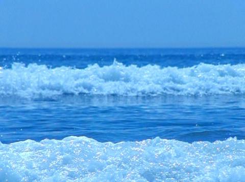 Ocean Wave 027 Loop Stock Video Footage