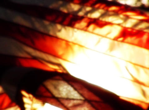 American Flag Sunset 02 Loop Footage