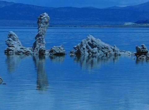 Mono Lake HS 2 Loop Stock Video Footage