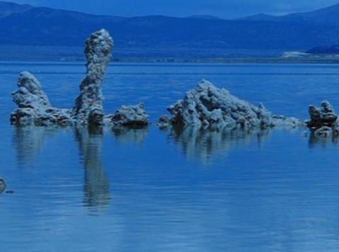 Mono Lake HS 2 Loop Stock Video Footage