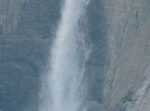 Yosemite Falls 2 Loop Stock Video Footage