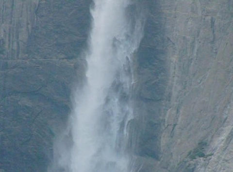 Yosemite Falls 2 Loop Stock Video Footage