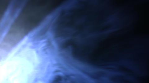 Blue smoky lighting Stock Video Footage