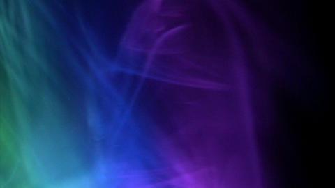 Looping smoke aurora Footage