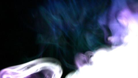 Blast smoke effects Stock Video Footage