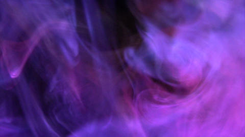 Swirling Colourful smokes Stock Video Footage