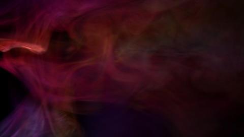 Smoke Color Mix 09 Loop Stock Video Footage