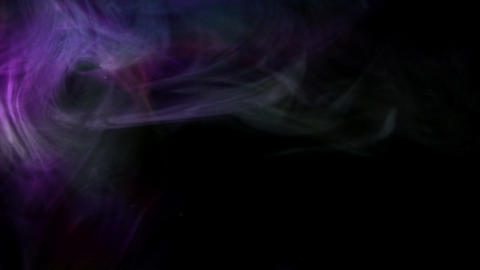 Smoke Color Mix 09 Loop Stock Video Footage