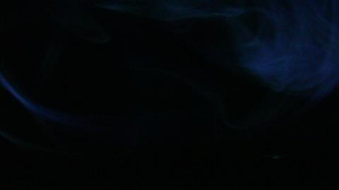Smoke Green Blue 01 Loop Footage