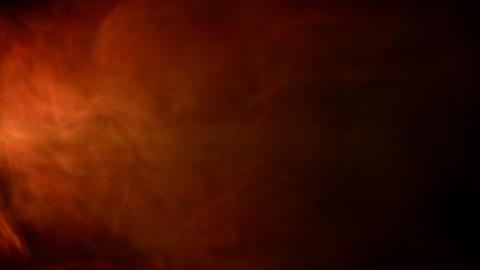 Orange fumes swirl Stock Video Footage