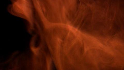 Orange fumes Stock Video Footage