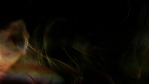 Yellowish orange fumes Stock Video Footage