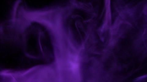 Smoke Purple 01 Loop Stock Video Footage