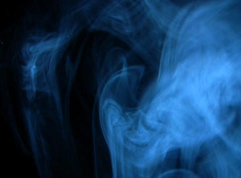 Blue Smoke 5 Stock Video Footage