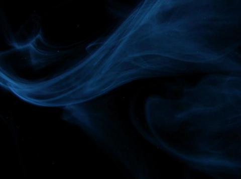 Blue Smoke 5 Stock Video Footage