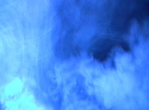 Blue Smoke 3 Footage