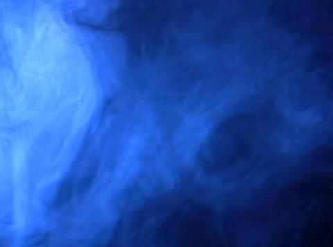 Blue Smoke 3 Stock Video Footage