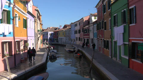 burano 03 Stock Video Footage