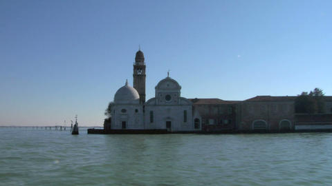 san michele island Stock Video Footage
