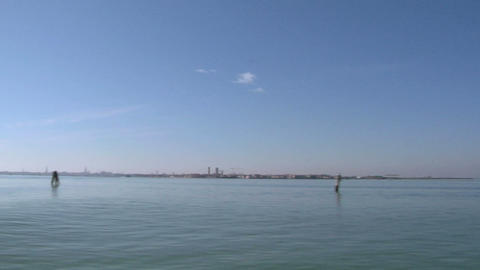 venetian lagoon 04 Stock Video Footage