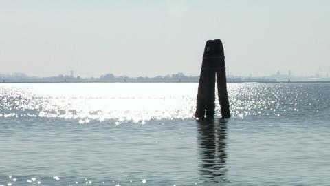 venetian lagoon 06 Footage