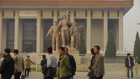 china beijing revolutionary martyrs memorial... Stock Video Footage