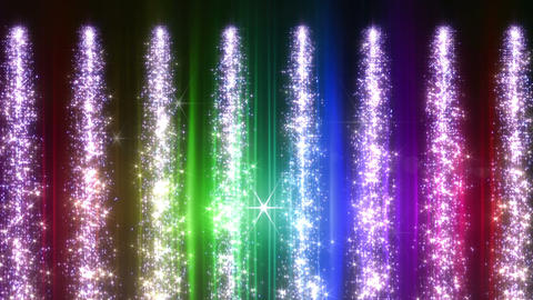 Light Water Fall 1 1 R HD CG動画素材