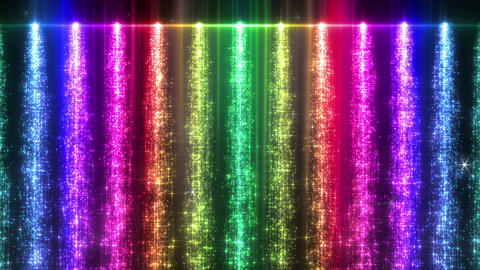Light Water Fall 1 2c R HD CG動画素材