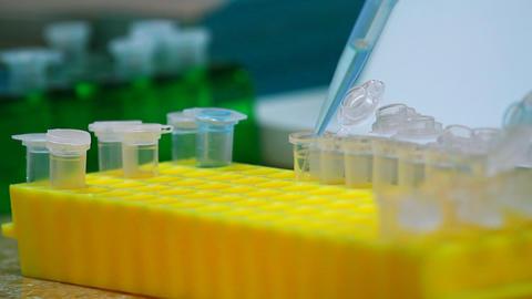 science laboratory Footage