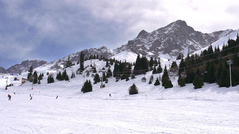 Ski Resort HD Stock Video Footage