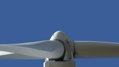 wind turbine close up loopable 10871 Stock Video Footage