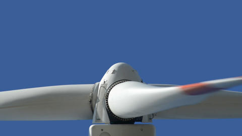Wind  Turbine  Close  Up  Loopable 10871 stock footage