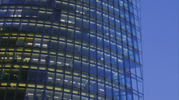 Detail of a corporate building Stock Video Footage