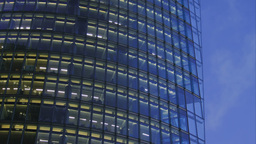 Detail Of A Corporate Building stock footage
