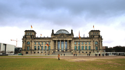Berlin Reichstag building timelapse Footage
