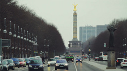 Street traffic in Berlin Stock Video Footage