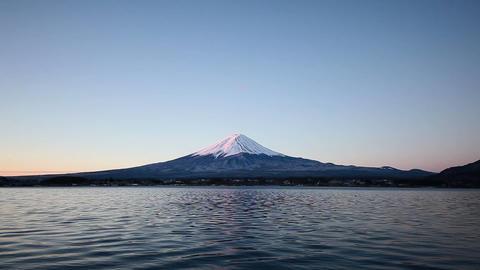 Mt.Fuji at dawn Stock Video Footage