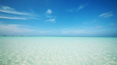 Nishihama beach in Hateruma-jima, Okinawa Stock Video Footage