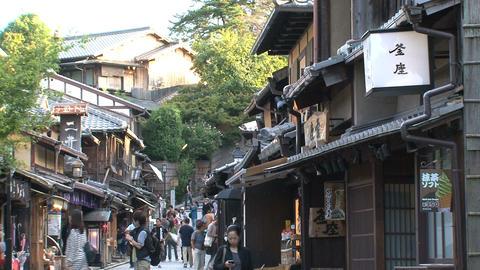 Gion Kyoto street Footage