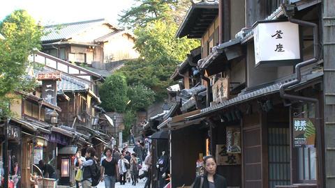 Gion Kyoto street Stock Video Footage