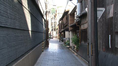 Gion kyoto street Stock Video Footage